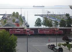 サンダーベイの港